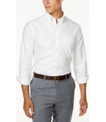 brooks brothers red fleece men's oxford slim-fit shirt
