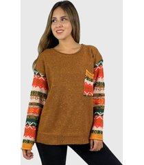 sweater de lana hippie chic café enigmática boutique