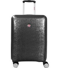 maleta de viaje swisspass magic 24 gris - explora