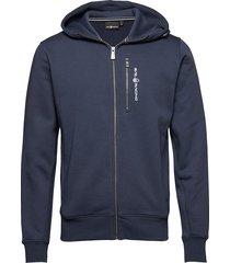 bowman zip hood hoodie trui blauw sail racing