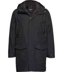 rain jkt from the sea padded m parka jas zwart tretorn