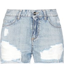 blugirl blumarine denim shorts