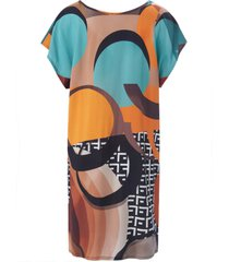 jurk van sunflair turquoise