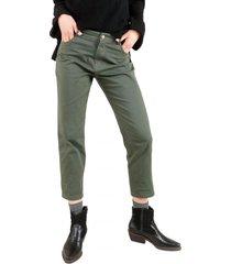 pantalon chad verde caro criado
