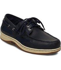 clovehitch ii fgl waxed båtskor skor blå sebago