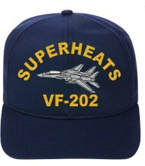 vf-202 superheats   f-14 tomcat  direct embroidered cap    new