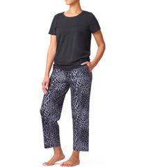 hue modern classic skimmer pajama set