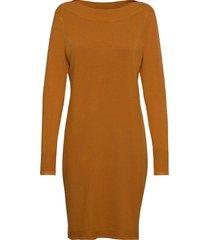 zubasic 131 dress knälång klänning gul fransa