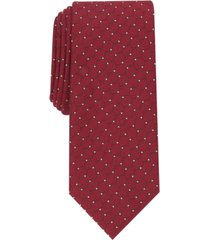 alfani men's slim geo dot tie, created for macy's