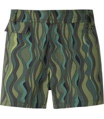 amir slama ondas tactel swim shorts - green
