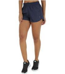 shorts oxer rum basic - feminino - azul escuro