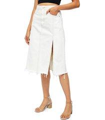 mambo a-line denim skirt