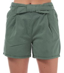 womens flame bow high rise shorts