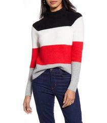 women's halogen mock neck sweater