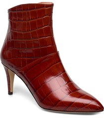 bethan shoes boots ankle boots ankle boots with heel röd l.k.bennett