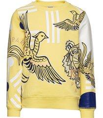 julia sweat-shirt trui geel kenzo