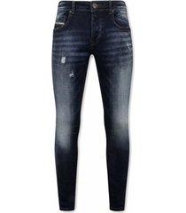 skinny jeans true rise stretch spijkerbroeken voor a