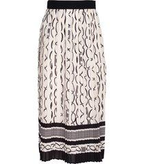 elisabetta franchi pleated skirt