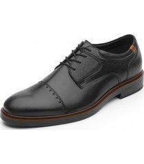 zapato formal paker negro flexi