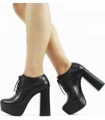 ankle boot lizy napa feminino - feminino