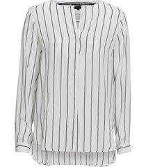 blus slfdynella stripe ls shirt