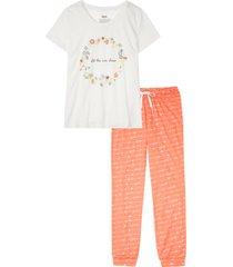 pigiama con cotone biologico (bianco) - bpc bonprix collection