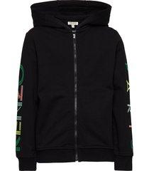 logo jb 7 hoodie trui zwart kenzo