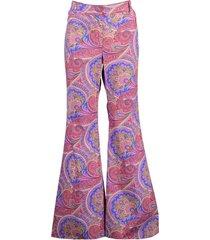 salima paisley-print trousers