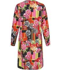 jurk met lange mouwen van emilia lay multicolour