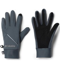 guantes trail summit running gris columbia