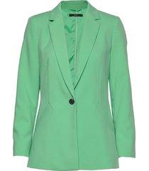 blazers woven blazer kavaj grön esprit collection