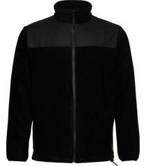 fleece zip puller sweat-shirt trui zwart rains