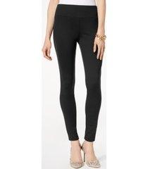 i.n.c. pull-on ponte skinny pants, created for macy's