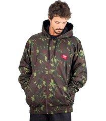 jaqueta corta vento anorak alfa camuflada impermeável
