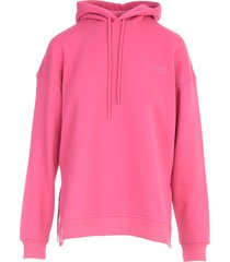 ganni software isoli sweatshirt w/hood