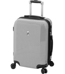 "london fog cambridge 20"" expandable hardside carry-on spinner suitcase"