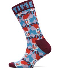 clown sock underwear socks regular socks röd happy socks