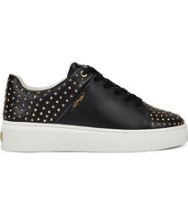 lage sneakers ed hardy - stud-ed low top black/gold