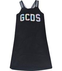gcds logo print dress