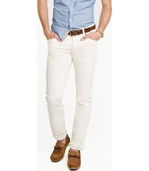 pantalon pasarela   dril blanco