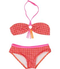 zee & zo zee & zo /oranje bandeau bikini maladiven roze
