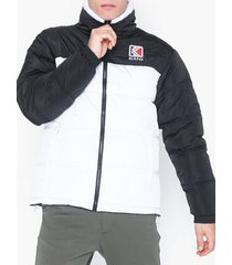 karl kani kk retro reversible puffer jacket jackor vit/svart
