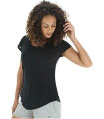 camiseta oxer cord ii - feminina - preto