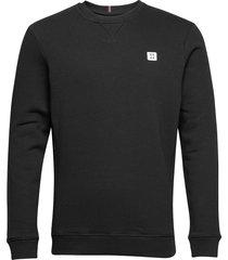 boozt piece sweatshirt sweat-shirt tröja svart les deux