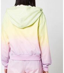 olivia rubin women's flo hooded top - pastel ombre - xs
