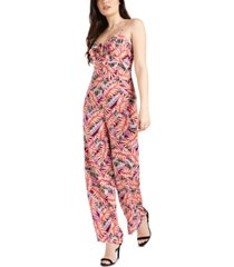 guess cindra printed jumpsuit