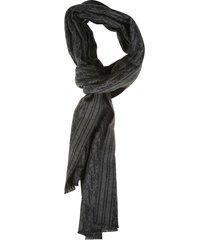 christian dior logo motif scarf