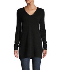 longline cashmere pullover