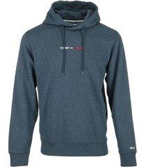 sweater tommy hilfiger straight logo hoodie