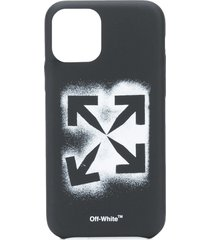 off-white stencil arrows iphone 11 pro case - black